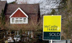 UK housing market on fire